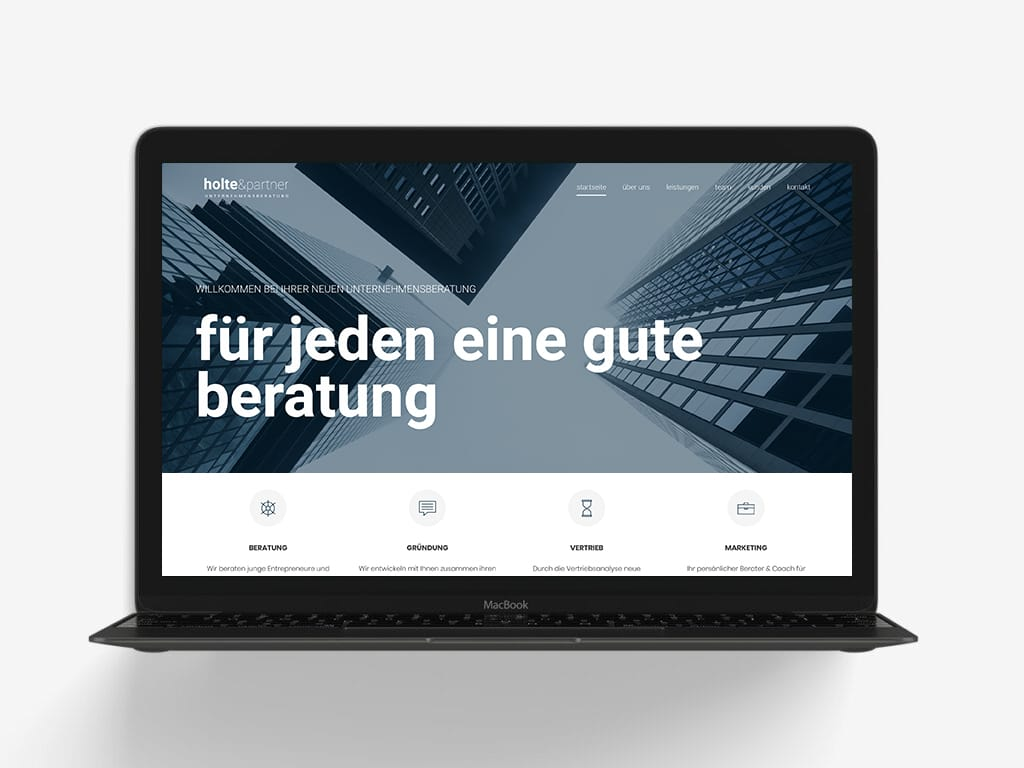 Firmen Re-Launch